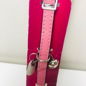 Cat collar with Bell ~ Sparkling pink | NEW